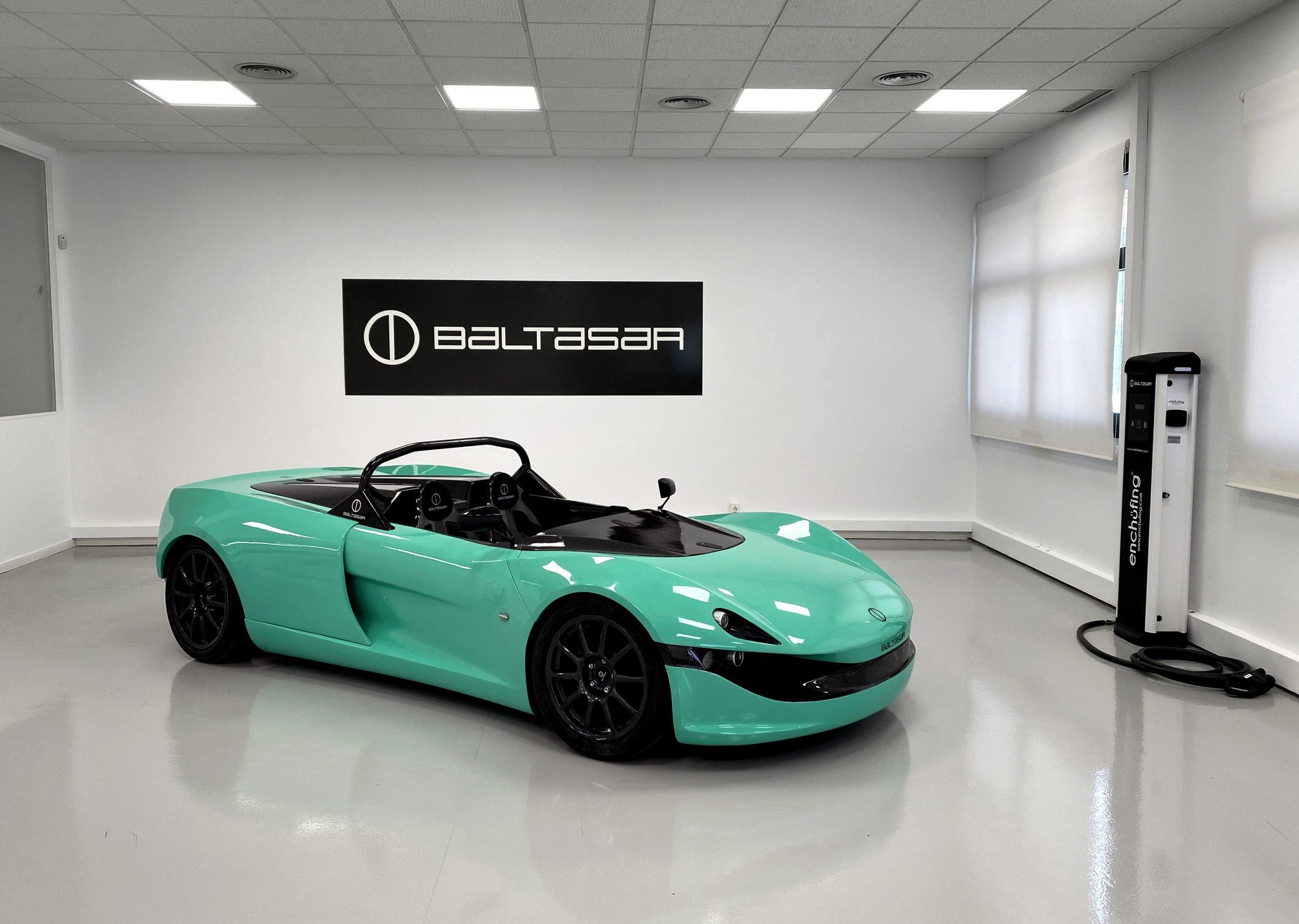 Baltasar Revolt An Electric Super Sports Car